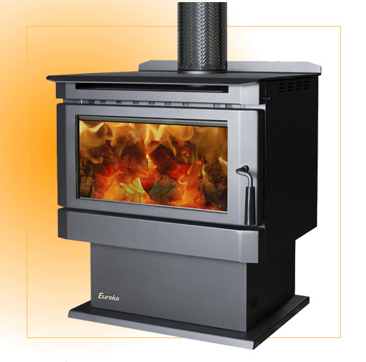 eureka wood heater